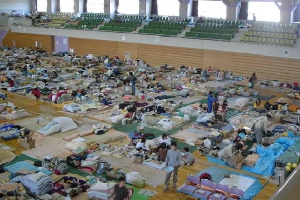 震災の時、好きだった女を避難所から救出した話
