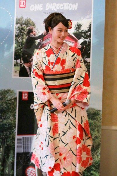 【画像】 堀北真希の着物姿が美しすぎる件