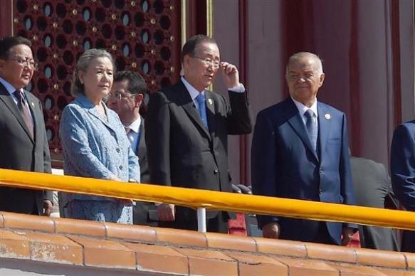 国連事務総長の抗日行事出席「母国向けのパフォーマンス」身内からも批判の声
