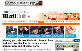 Hな動画をたくさん見る男性は「怠け者」? 脳の一部が小さいことが判明