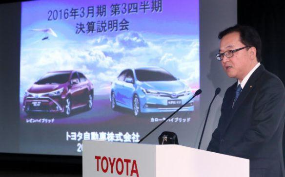 トヨタ、今期純利益4%増の2兆2700億円 200億円上方修正 北米好調