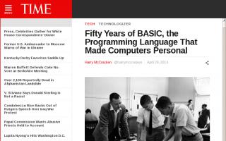 誕生から50年を迎えたプログラム言語BASICの歴史、その精神とは