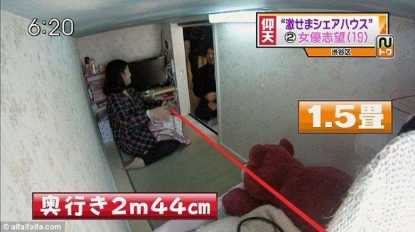 外人「日本人が月5万も払って奴隷みたいな部屋に住んでるwwww刑務所の方がマシだろwwwwww