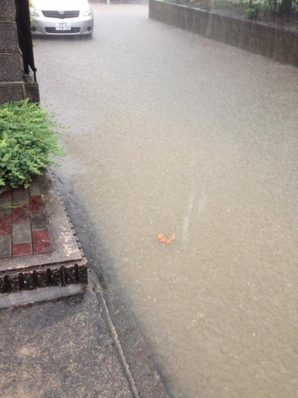 名古屋、完全水没