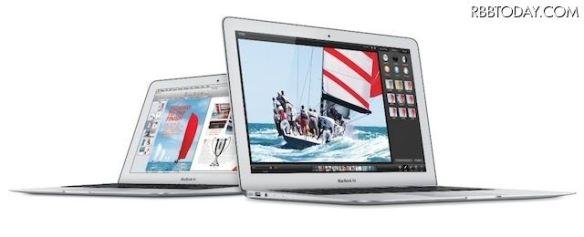 MacBook Airをアップデート 9万5904円から 2014/04/30