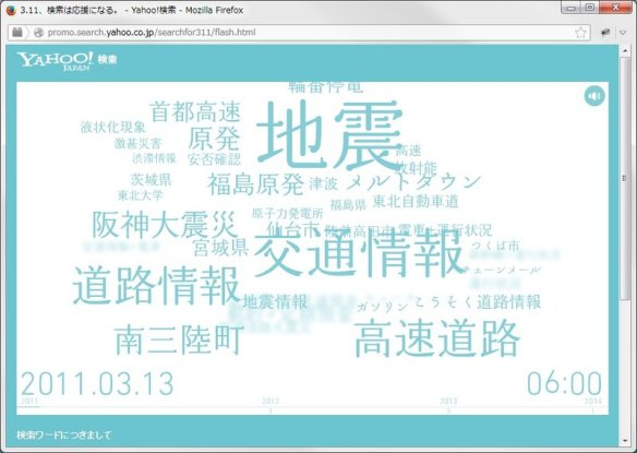 Yahoo!検索で「3.11」と検索するだけで本人の代わりに10円を寄付--ヤフー、3/11に募金プロジェクト実施