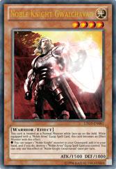 【遊戯王OCGフラゲ】海外のタキオンに新聖騎士「Noble Knight Gwalchavad」、聖剣「Noble Arms of Destiny」収録決定!