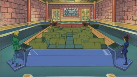 【遊戯王DM】ワクワクした迷宮フィールドのデュエル