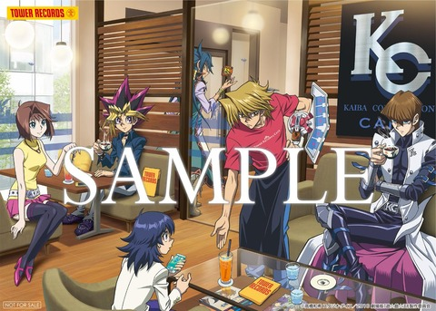 【遊戯王映画】本日より劇場版『遊☆戯☆王』TOWER RECORDS CAFE開催!