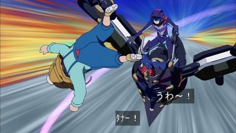 【遊戯王ARC-V】モンスターと共に宙を舞う!