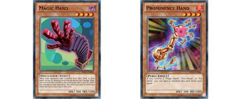 【遊戯王TCGフラゲ】海外の「Dragons of Legend」にギラグさんの『Magic Hand』と『Prominence Hand』が収録決定!