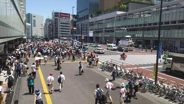 共産党・笠井亮が桜井誠の選挙演説を妨害…動画あり