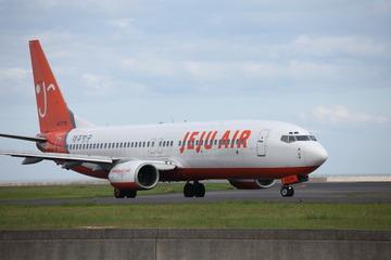 韓国LCC機が硫黄島に緊急着陸 エンジン不調で