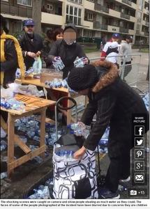【動画】ロンドンマラソン給水所に移民集団が突撃、飲料水を大量に持ち去って大問題に…英国