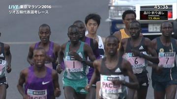 【悲報】東京マラソンが黒人に占拠されるwwwww