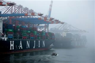 韓国の韓進海運が経営破綻…世界各地で入港禁止措置、外洋で立ち往生する事態に