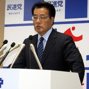 民進党・岡田「この時期に鳥越のスキャンダルが出てくるのは不自然」