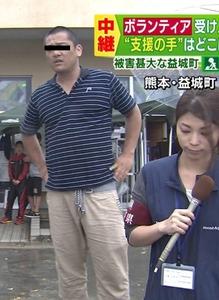 【速報】TBSが取材禁止の避難所から生中継して被災者激怒