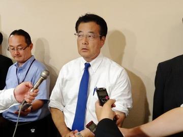 民進党・岡田、石田純一提案の「野党統一候補」に前向き