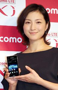【芸能】広末涼子、CM再出演に歓喜のアピール「ドコモ以外使ったことない」