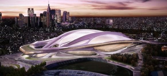 【画像】東京に新たに建築される「新国立競技場」がかっこ良すぎる件!!!!