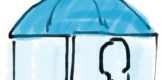 【大発明】凄い傘考えたったwwwwwwwwww