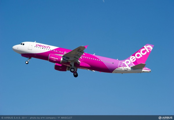 low_A320_Peach_Aviation