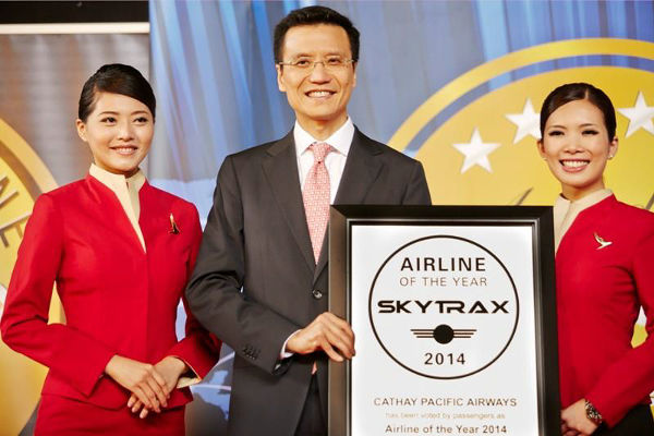 CX Airline of the year award