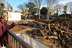【東京】江戸時代から残る奇跡の森、マンション開発の為に伐採される…天明さんの森