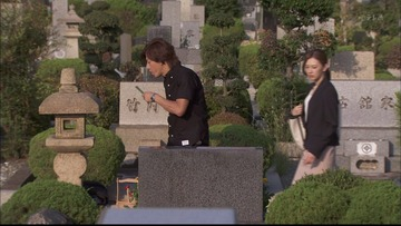 ドラマ「HERO」最終回、「古館家」「竹内家」と書かれた墓が映って大炎上