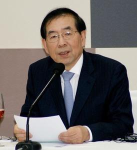 ソウル市長「東京五輪をアジア全体の五輪に。ソウルもパックにすれば他国の人に喜ばれる」
