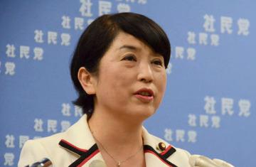 福島瑞穂「集団的自衛権の行使を認めるということは、政府が、日本の若者に対して、『他国で、人を殺せ』と命ずることです」
