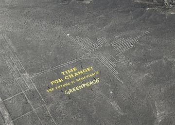 グリーンピース「考古学者が同行した。線に触れてないから大丈夫」 ナスカの地上絵破壊で公式コメントを発表