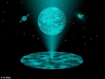 【宇宙】われわれの宇宙は二次元平面から投影されたホログラムである可能性