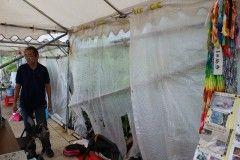 【辺野古】「心無い行動はやめてほしい」 基地反対派のテントが何者かに荒らされる