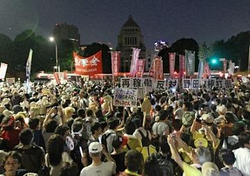 反日団体「ヘイトスピーチを規制しろ!」 → 政府「それじゃあ国会周辺の大音量デモも規制するわ」