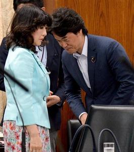 【ブーメラン】片山さつきの遅刻を批判した小西ひろゆきが委員会に遅刻wwwww