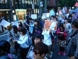 「民主主義って何だ」 渋谷で秘密保護法反対デモ → ネット民「そういうお前らが民主主義を否定してるだろ」と総ツッコミwwwww