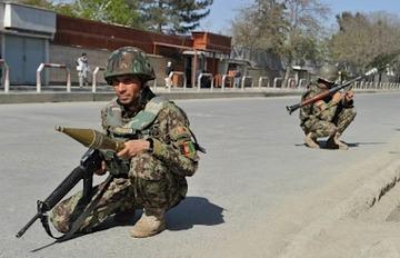 ダンガムにロケット弾が打ち込まれる…アフガニスタン