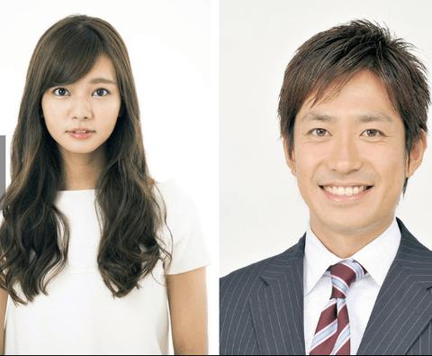 田中毅アナとモデルタレントのにわみきほさんが結婚!おめでとうございます!!