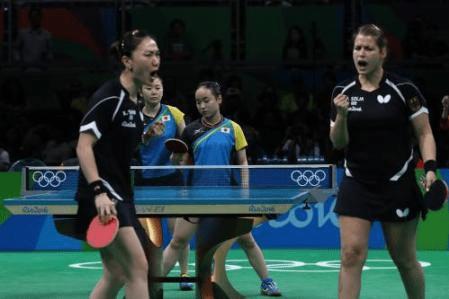 【リオ五輪】卓球日本女子団体は2―3でドイツに破れ、決勝を逃して3位決定戦へ