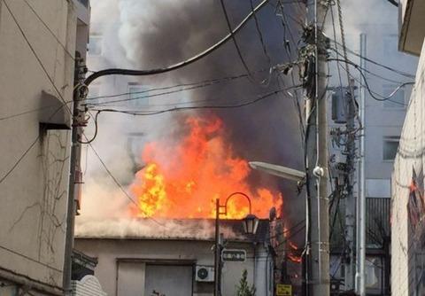 前日、新宿歌舞伎町の新宿ゴールデン街の火災は放火だったことが判明!無職男性を逮捕!