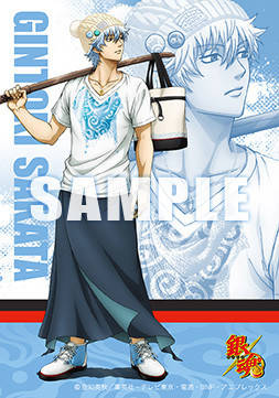 アニメ「銀魂」を題材にしたTシャツやアクセサリーなどのファッションアイテムが登場!