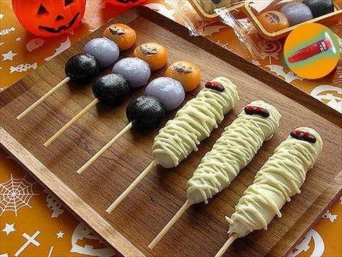 ハロウィン期間限定のお団子「チョコマント ハロウィンセット」が登場!