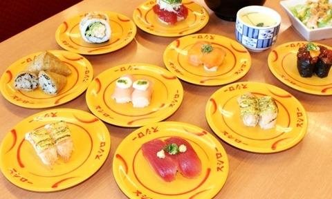 【画像】スシローで超レア皿が出現するwwwwwwww