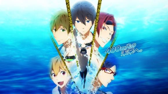 【Free!】『spoon.2Di』表紙が水泳部+凛のセーラー服!ひとりだけ浮き輪の人がwwww