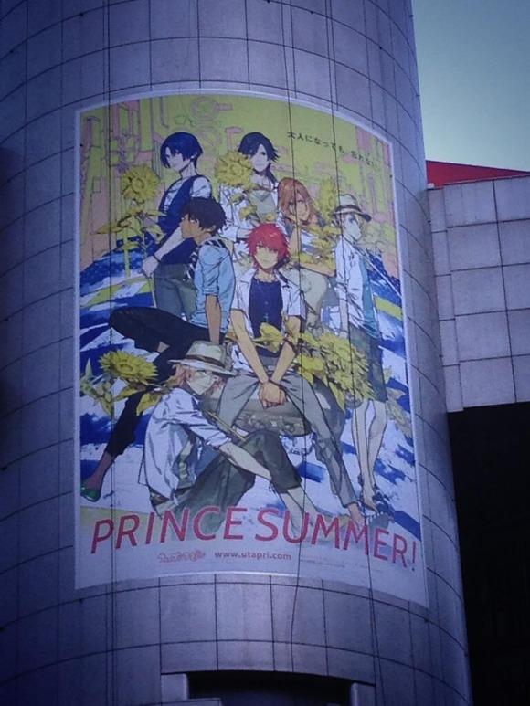 【うたの☆プリンスさまっ♪】渋谷109&マルイに『うたプリ』巨大ポスター掲載!そして『Next Project Coming soon』の記載もキタ━━━━(゚∀゚)━━━━!!
