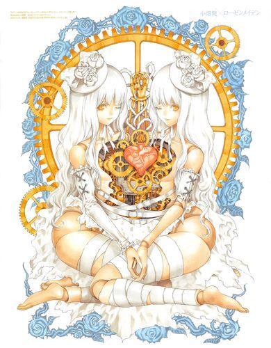 【ローゼンメイデン】小畑健氏(ヒカルの碁・DEATH NOTE)が描いたローゼンメイデンコラボイラストが美しすぎる!!
