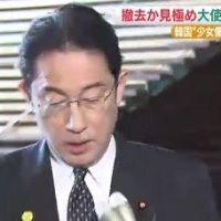 日本政府、韓国に最後通告www「慰安婦像撤去しなければどうなるか分かってるな?」⇒ 韓国「撤去できない事を分かってて条件にするなんて断交したいのか!」発狂wwwww