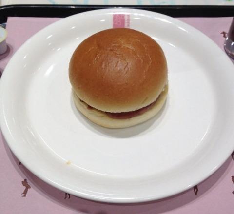 AKBカフェ「具だくさんヘルシーハンバーガー700円」 これはひどい!【画像あり】